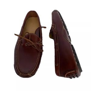 Cole Haan Men's Driving Shoes Brown Leather 12D